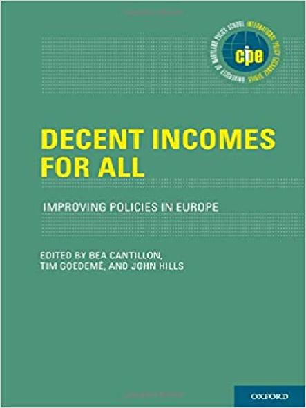 Decent incomes for all : improving policies in Europe