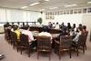 허용범 국회도서관장 국가근로장학생들과의 간담회