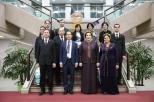 굴샷 맘메도바(Gulshat MAMMEDOVA) 투르크메니스탄 국회의장 일행 국회도서관 참관